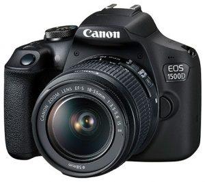 Canon DSLR EOS 1500D dengan lensa 18-55mm IS II